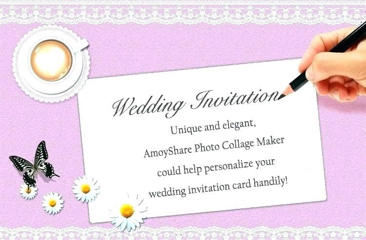 Unique Birthday Invitation Video Maker Online Free Wedding