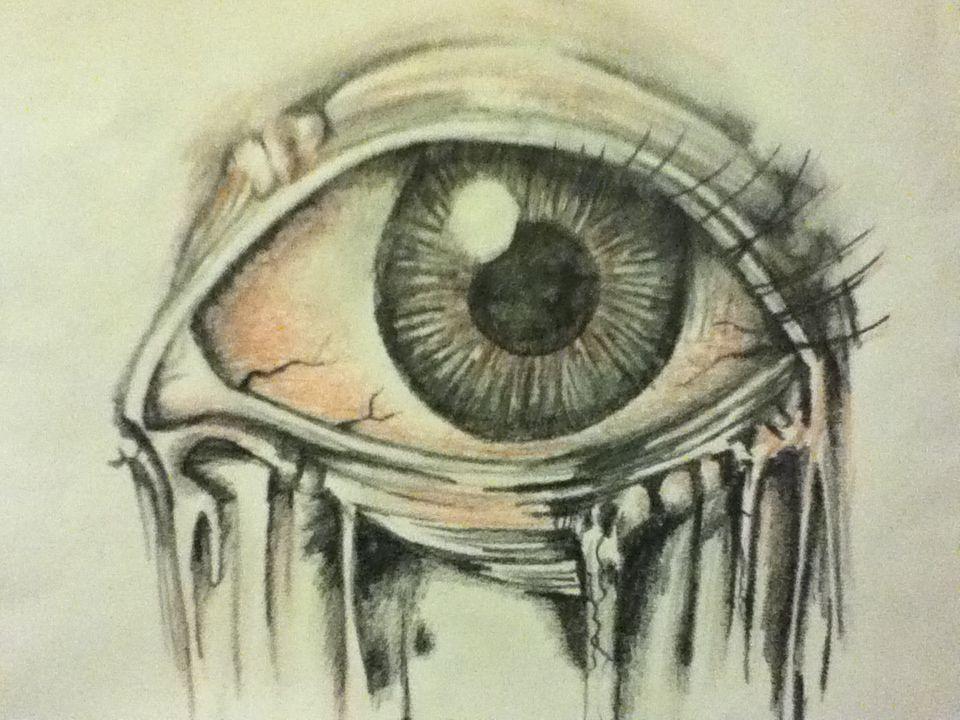 How To Draw Eyes Creepy