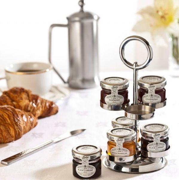 tiptree small jars of jam marmalade or honey portion. Black Bedroom Furniture Sets. Home Design Ideas