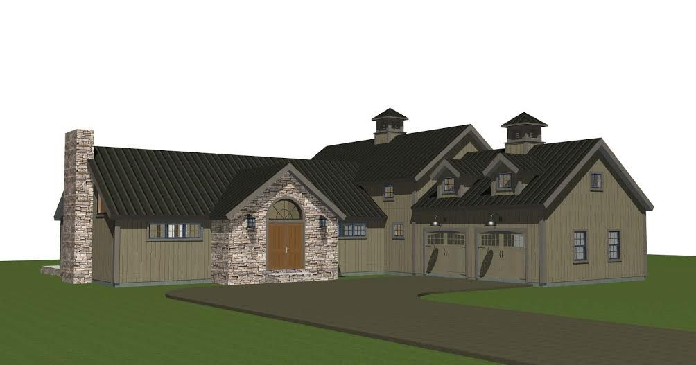 Updated Barn House Plans: The Hunt Valley Design | Barn ...