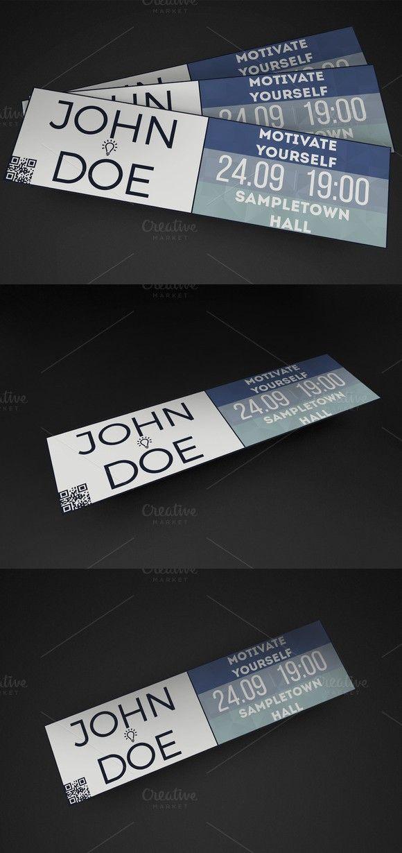 Corporate Event Ticket