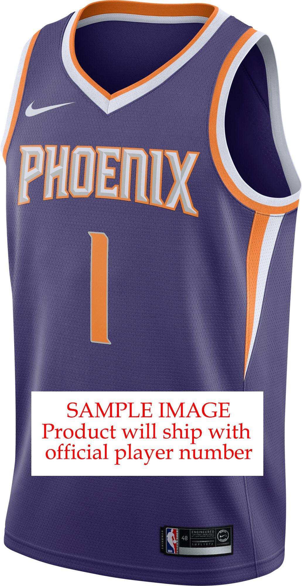 a33dc4680 DeAndre Ayton - Nike Men s Phoenix Suns Purple Dri-FIT Swingman Jersey