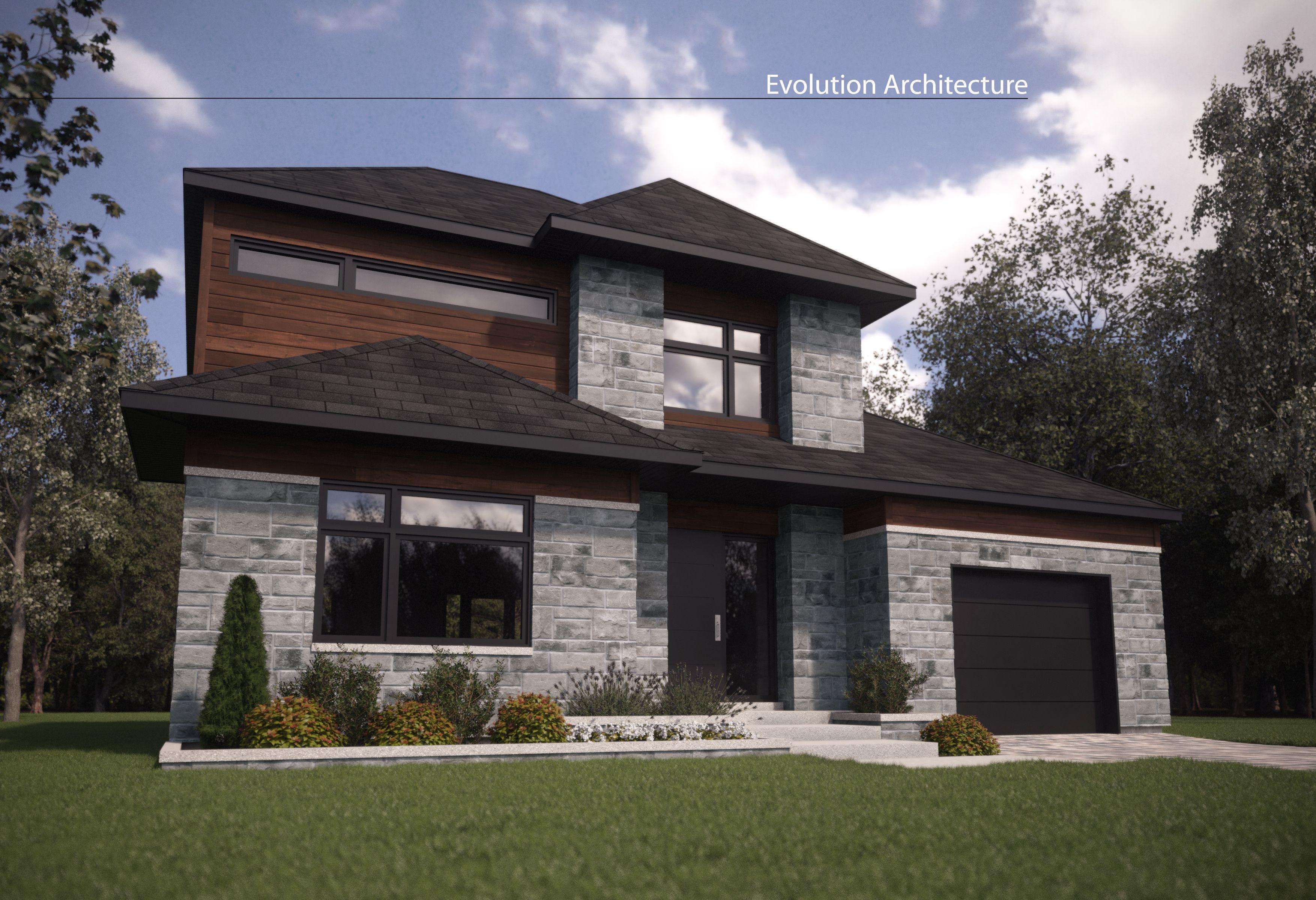 Evolution Architecture, maison contemporaine, Projet rénovation R ...