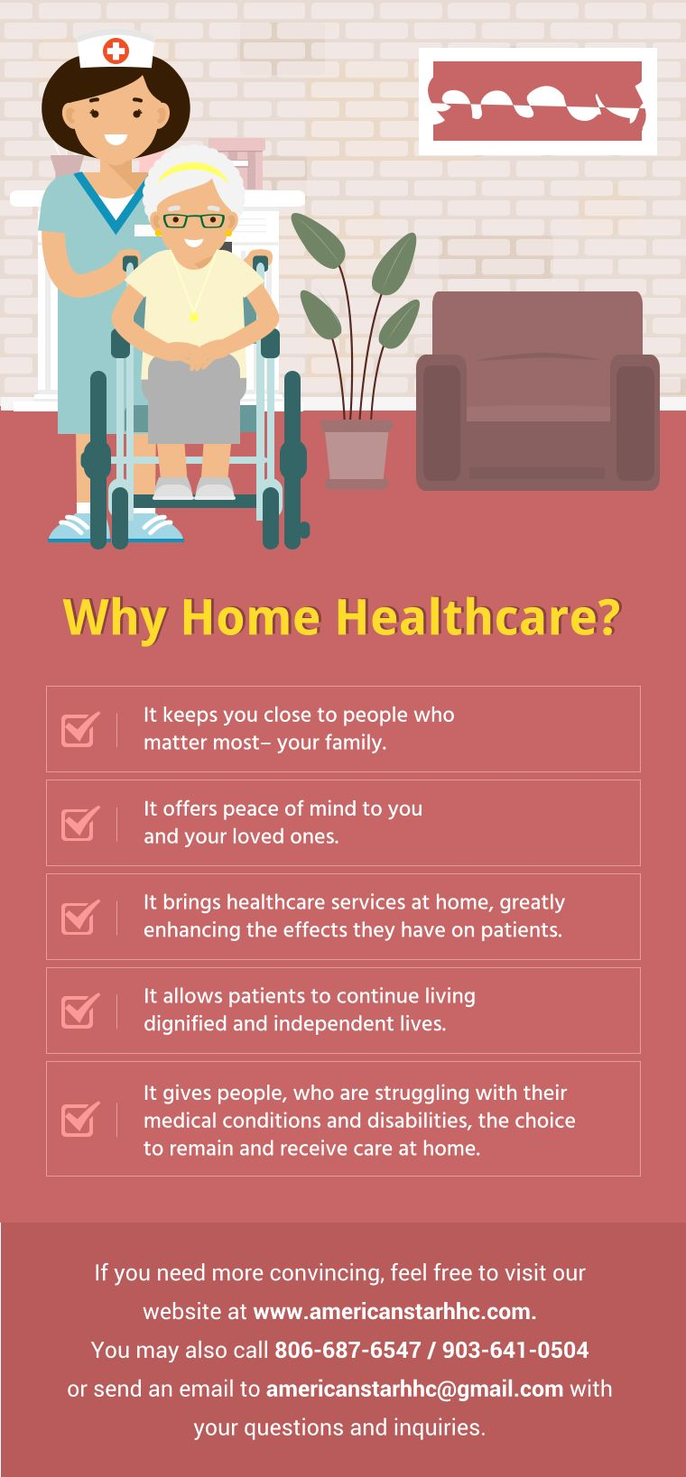 Why Home Healthcare? Healthcare Services Home health
