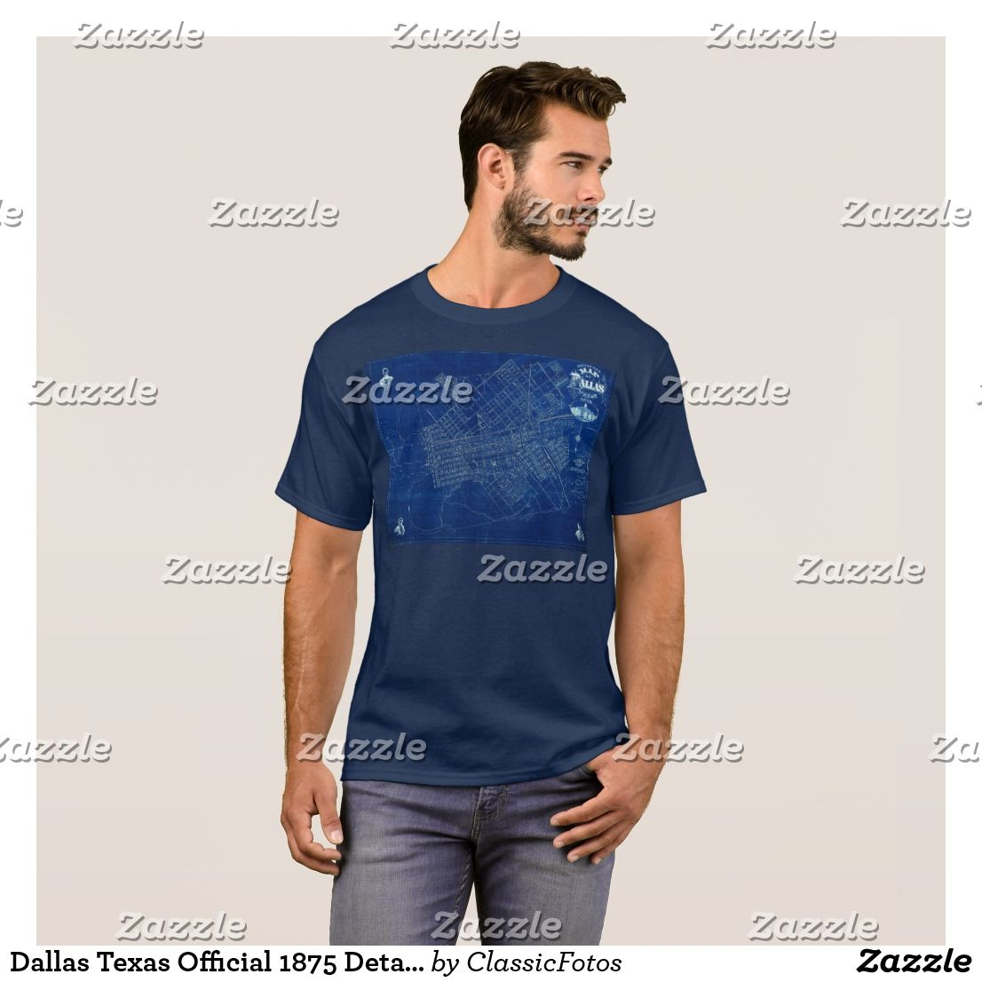 Texas official 1875 detailed blueprint map t shirt dallas texas official 1875 detailed blueprint map t shirt malvernweather Image collections