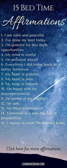 Affirmations: Use Positive Daily Affirmations
