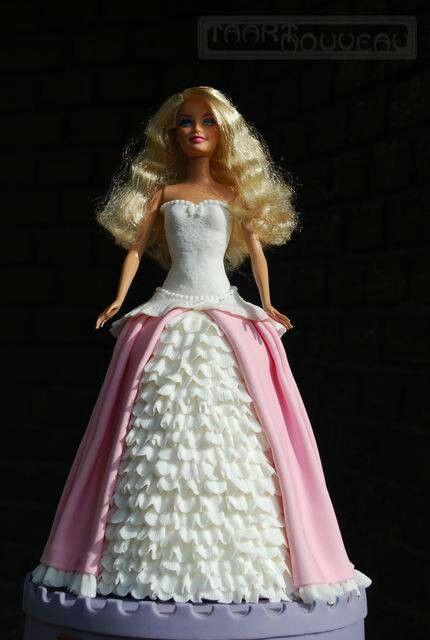 taart nouveau How to Barbie cake di Barbara Hoogendoorn | Taart Nouveau http  taart nouveau