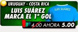 supercuota Uruguay vs Costa Rica mundial brasil 14 junio
