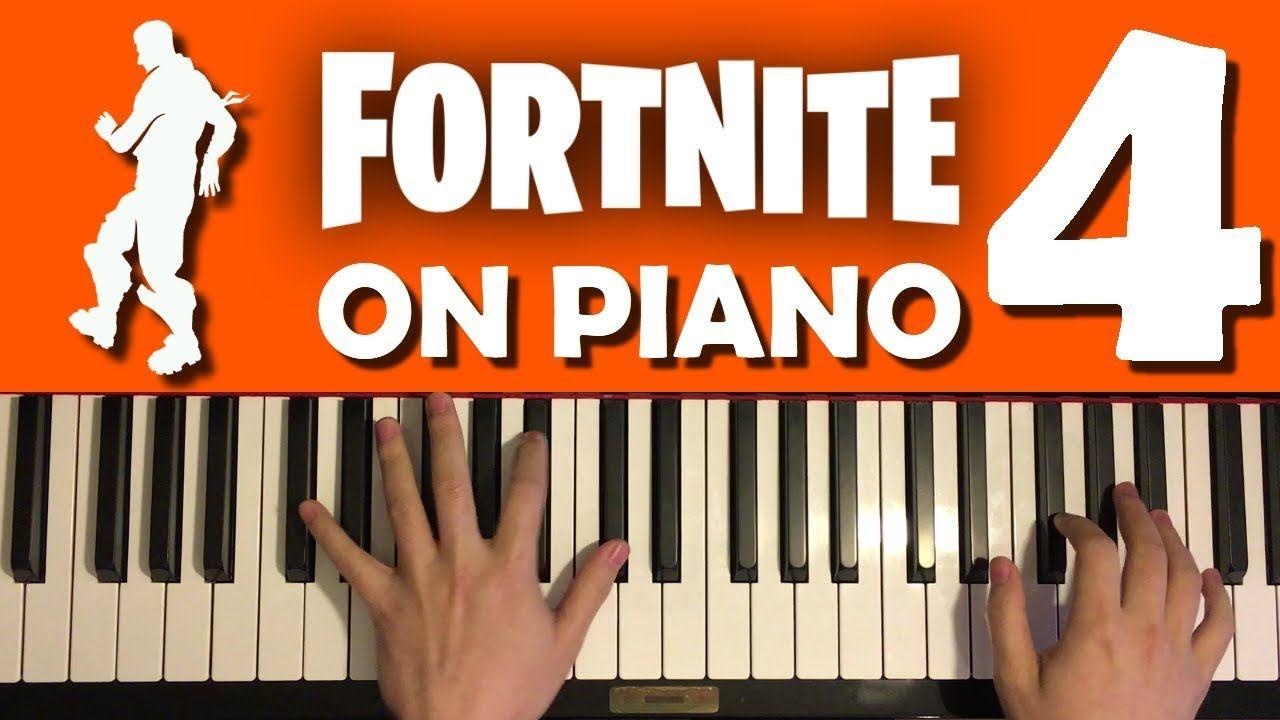 FORTNITE DANCES ON PIANO (Part 4)   Fortnite, Piano parts ...