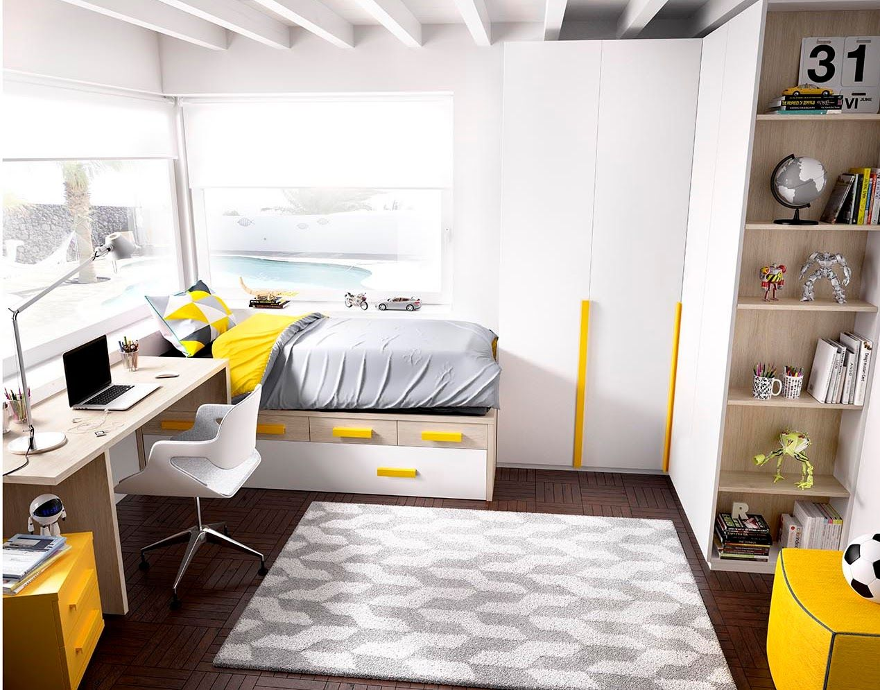 Mini Dormitorio Infantil Buscar Con Google Dormitorio Juvenil
