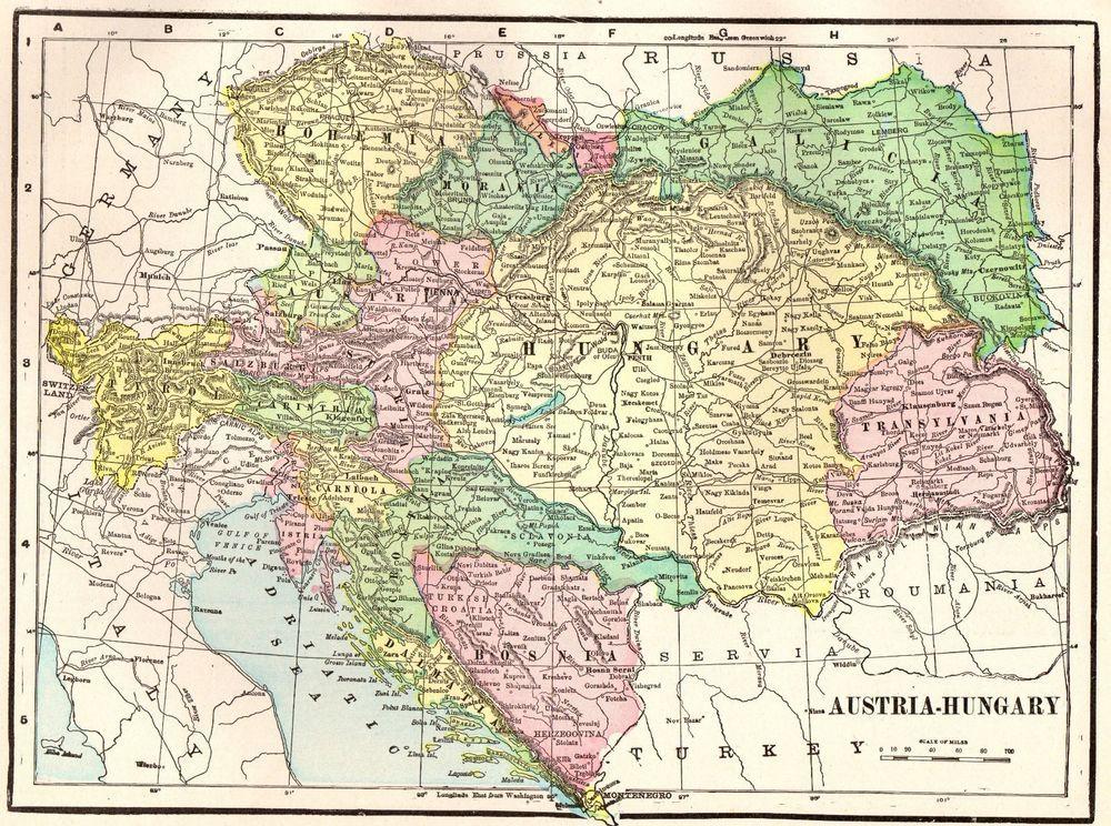 Antique austria map hungary map of austria gallery wall art 4167 1902 antique austria map hungary map of austria gallery wall art 4167 gumiabroncs Choice Image