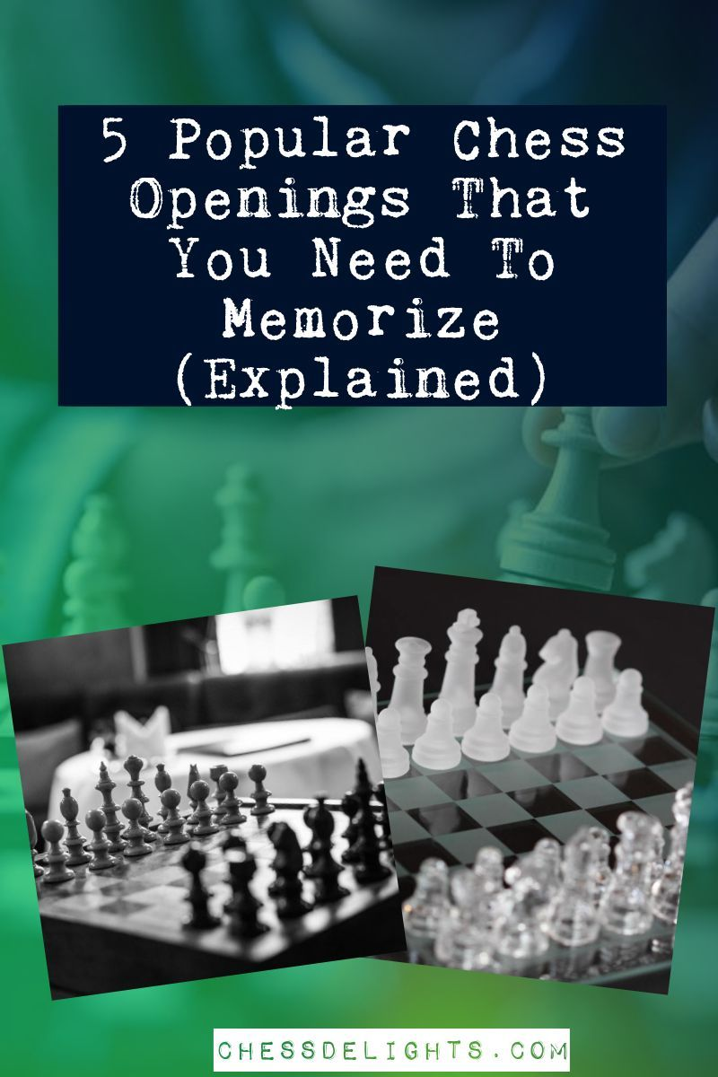5 Popular Chess Openings in 2020 How to memorize things