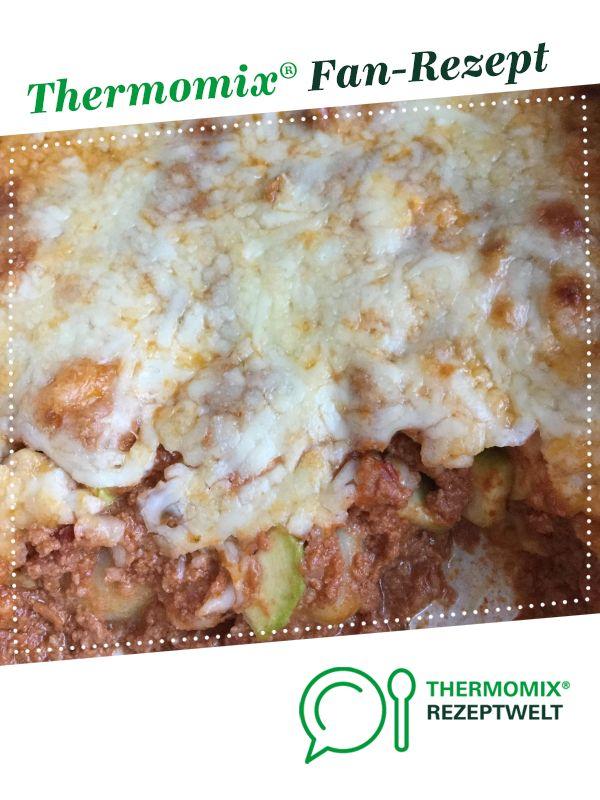 Gnocchi-Auflauf mit Hackfleisch und Zucchini