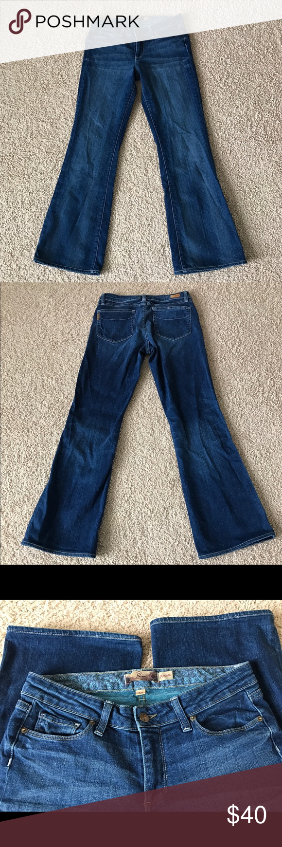 "✨💕 Paige - Bootcut jeans Paige Premium Denim-Montecito Bootcut ✨          Awesome jean in Great condition!   Inseam 31"" Paige Jeans Jeans Boot Cut"
