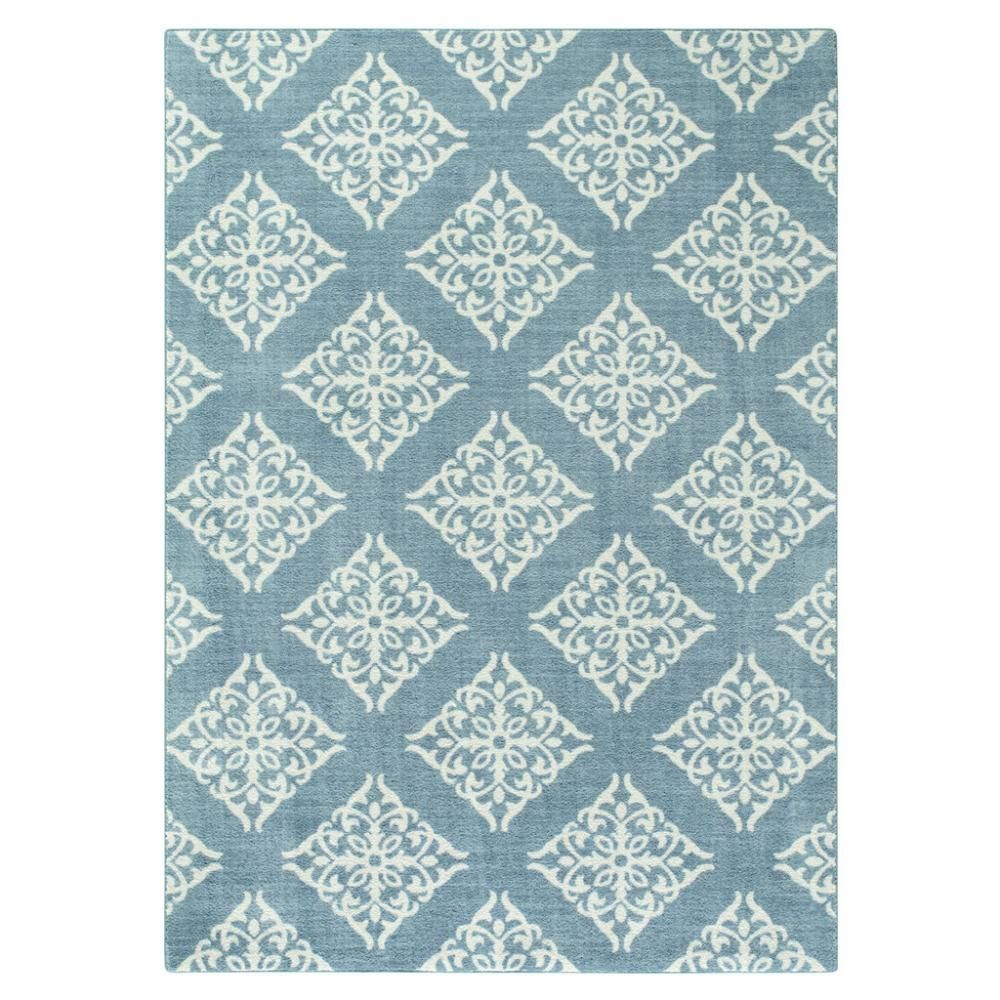 Layla | Overcast Blue | Area Rug | Maples Rugs | The Blues | Pinterest