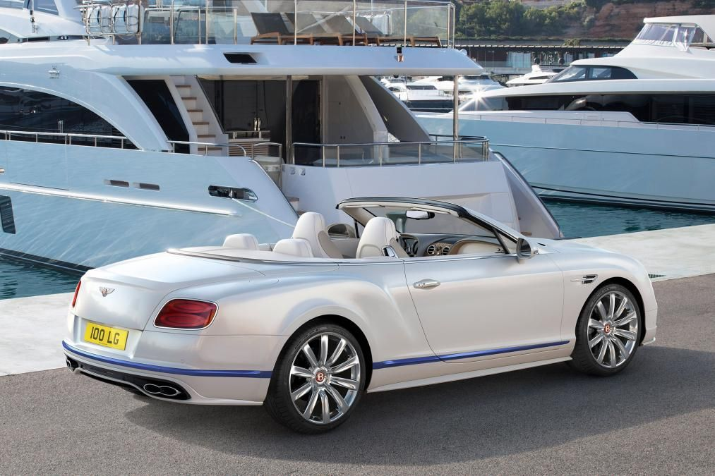 2017 Bentley Continental Gt Convertible Galene Edition By Mulliner