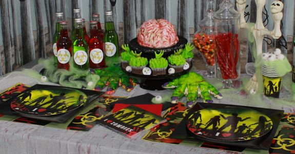 ZombiesBook with lots of Zombie baking recipes ideasA