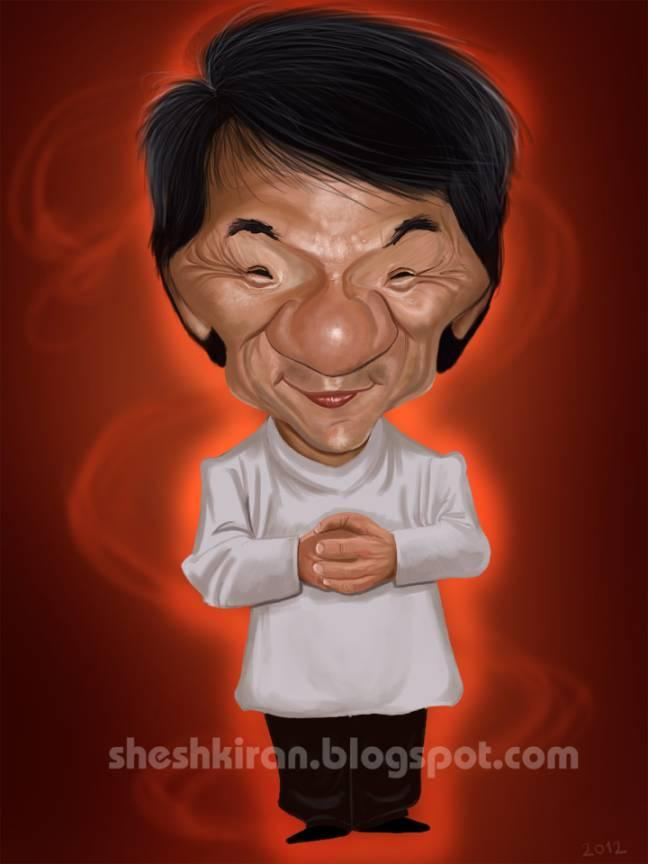 Jackie Chan The Popdot Artist Please Join Me On The Twitter Alabamabyrd Be My Friend On The Facebo Funny Caricatures Celebrity Caricatures Jackie Chan