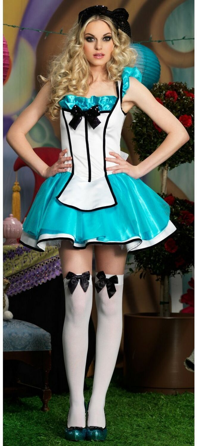 Adult Tea Party Alice Costume | Disney Character Costumes ...