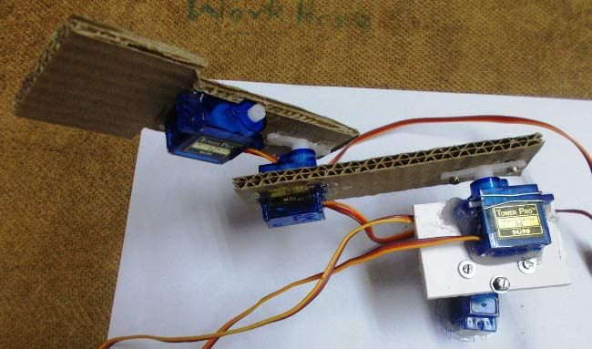 Making an arduino based robotic arm arduino projects pinterest diy arduino robotic arm project with circuit diagram code solutioingenieria Image collections