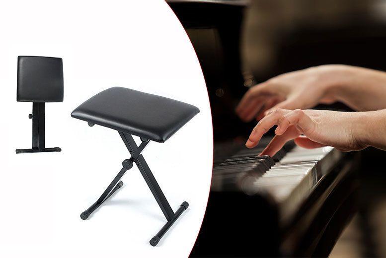 Folding Piano Stool