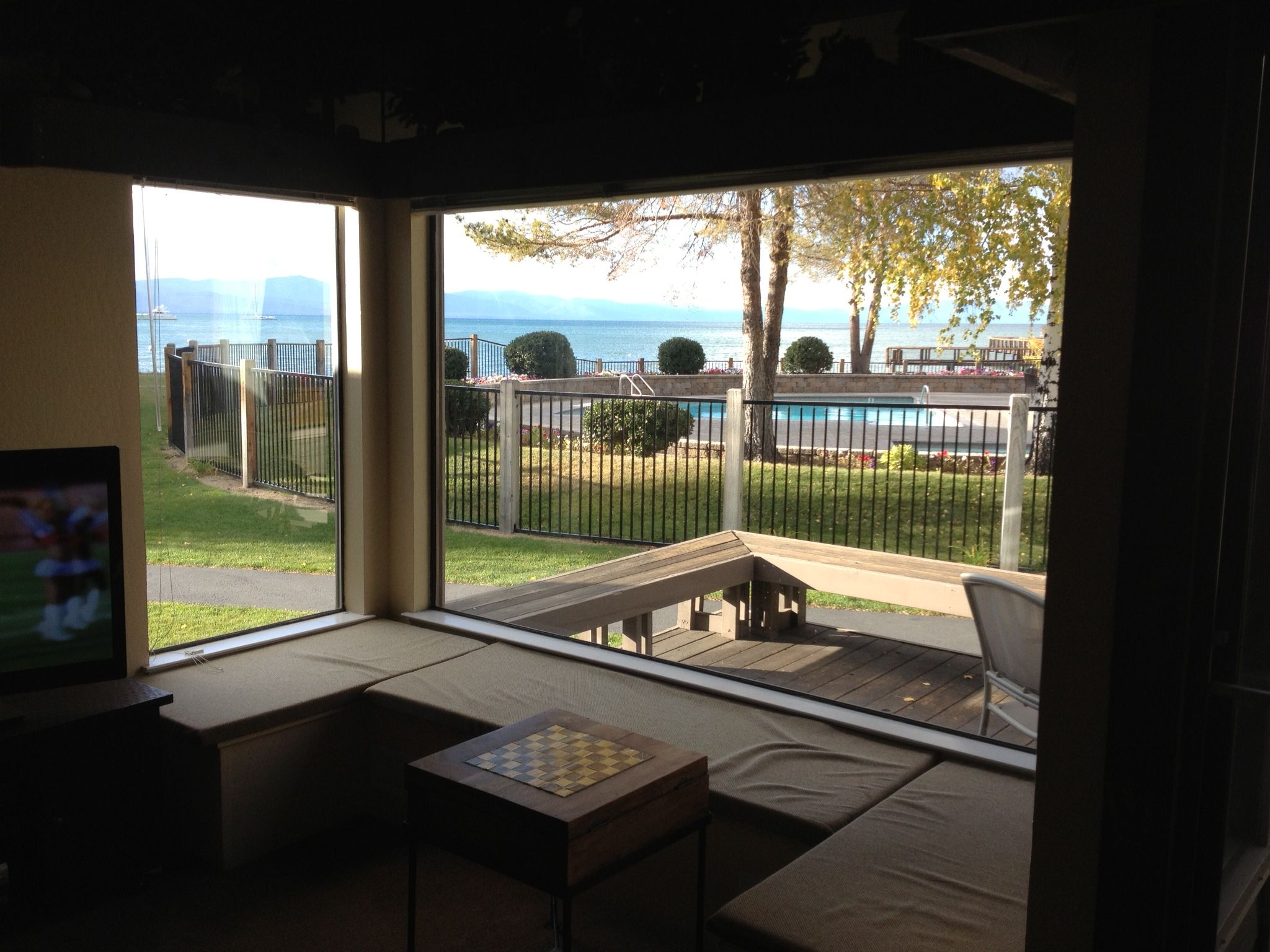This view could be yours. Just steps from the beach and ...