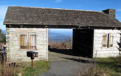 Picnic Shelter Near The Trailhear Of Deep Gap Trail At Mount Mitchell Appalachian Trail Appalachian Trail