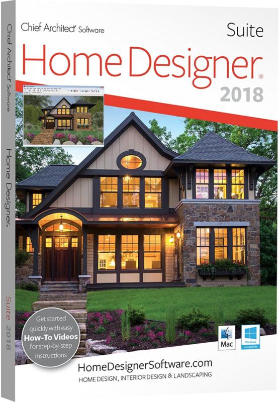 Home Designer Suite 2018 Interior Landscaping Dvd Software Computer