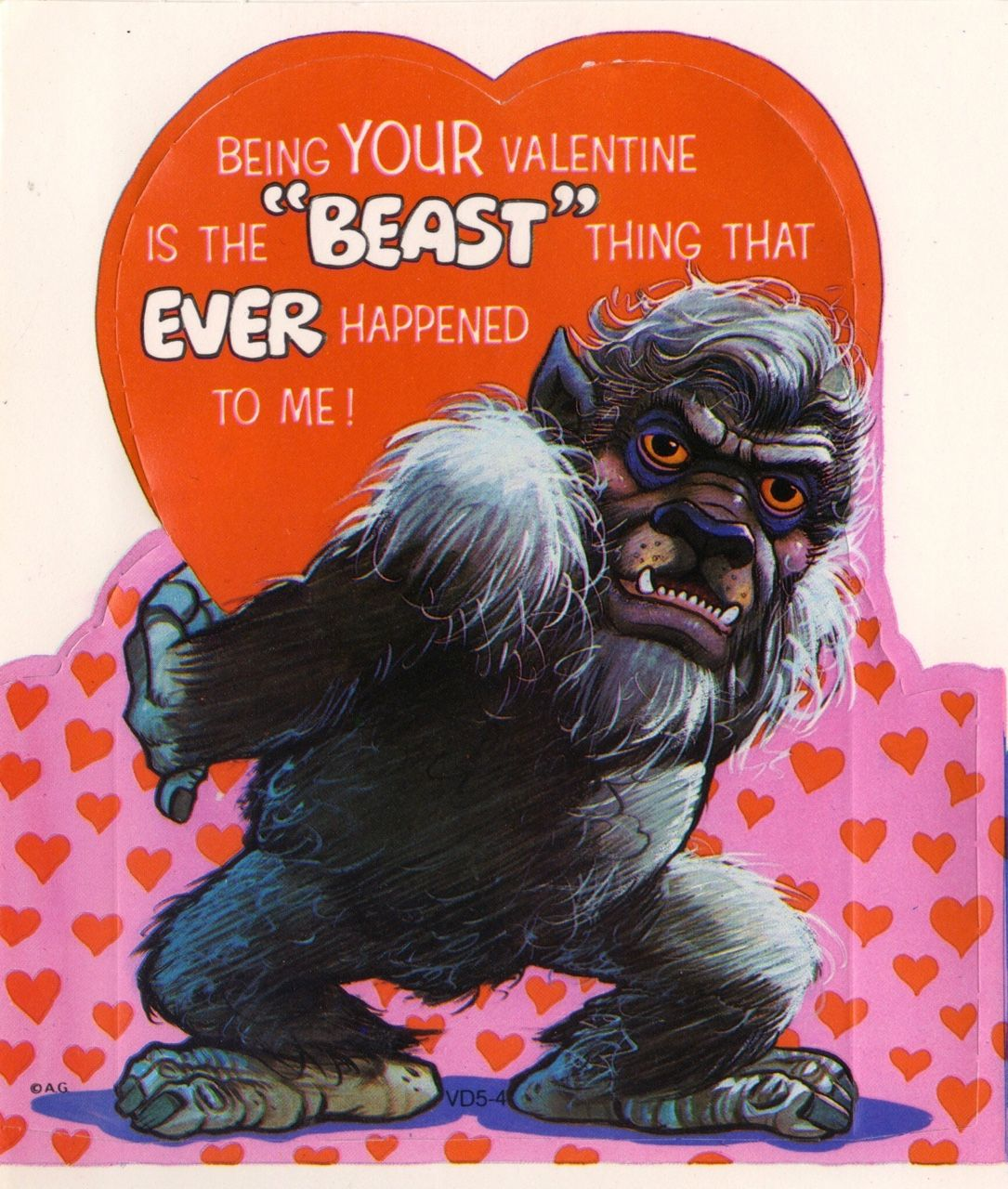 Monster valentines american greetings 1977 monsters pinterest log in monster valentines american greetings m4hsunfo