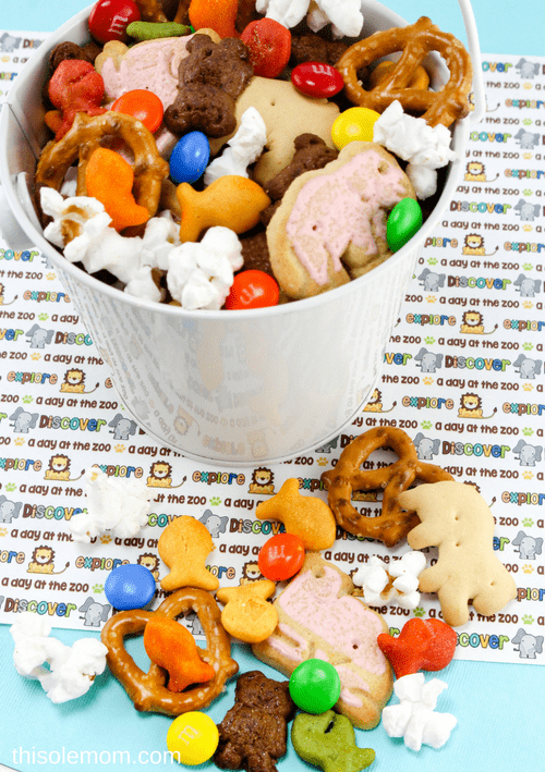 Easy to Make Zoo Trail Mix