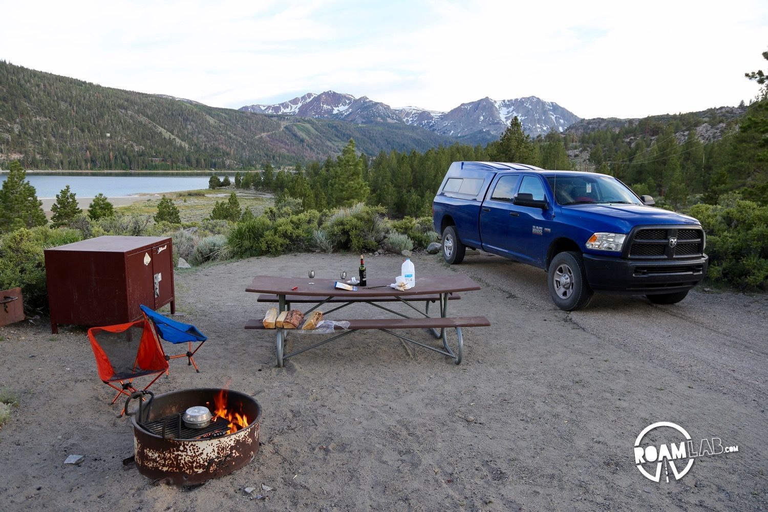 Best Campsite: Oh! Ridge, June Lake, California Most of the time,