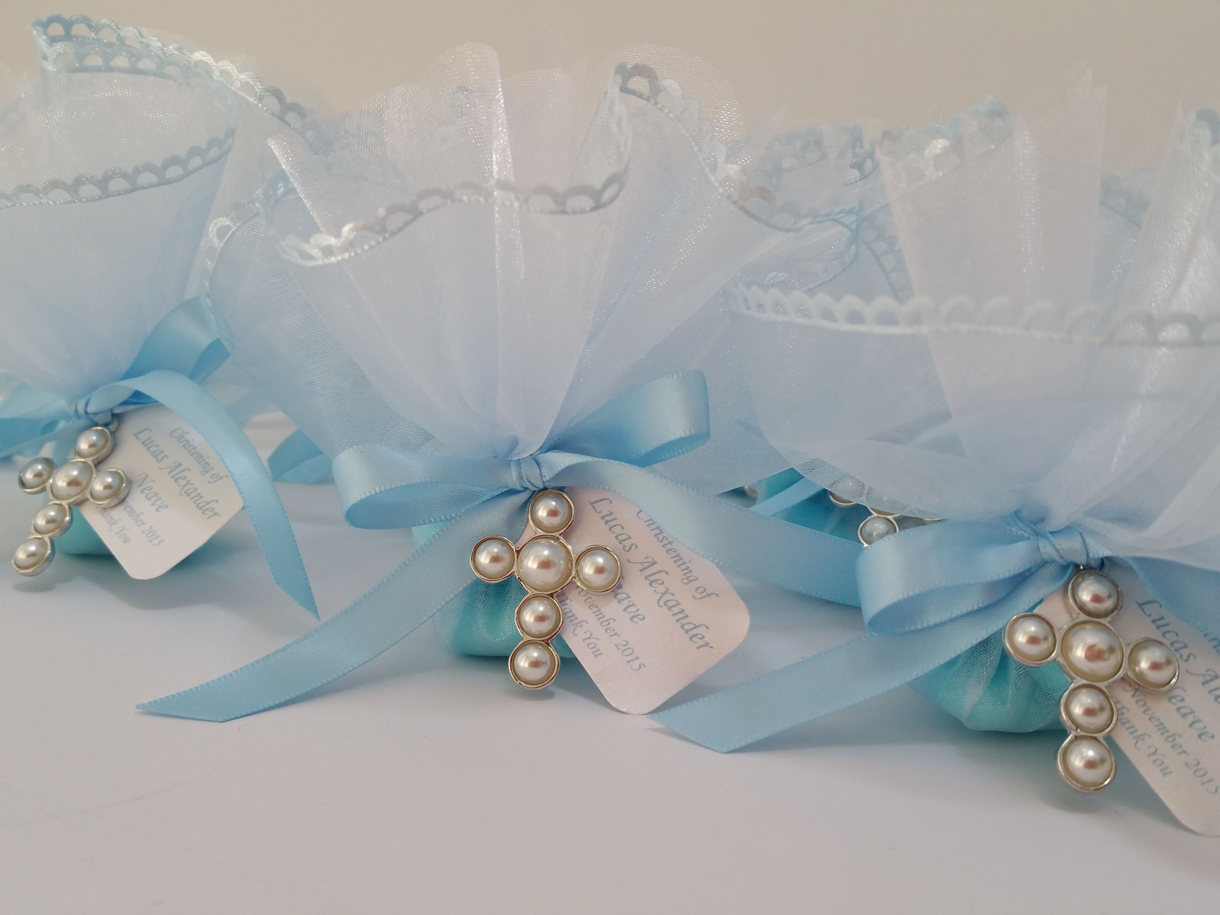 Simple elegant boys oniere perfect for christenings