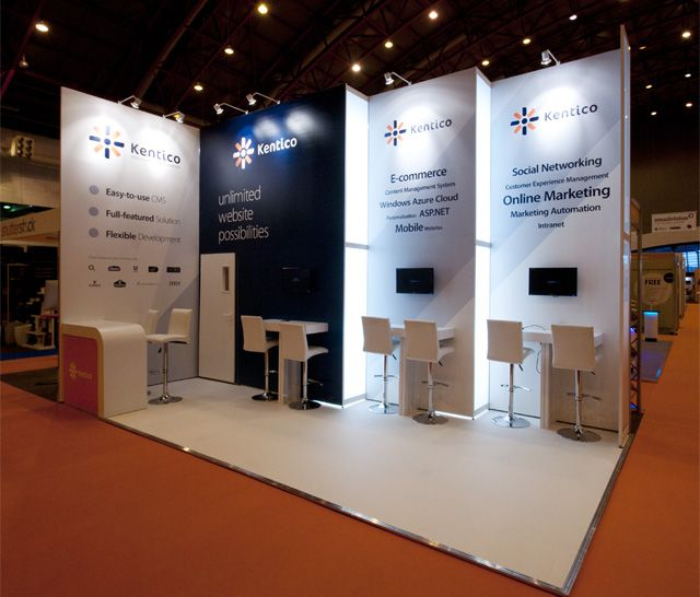 Modular Exhibition Stands London : Custom stand design modular system built exhibition