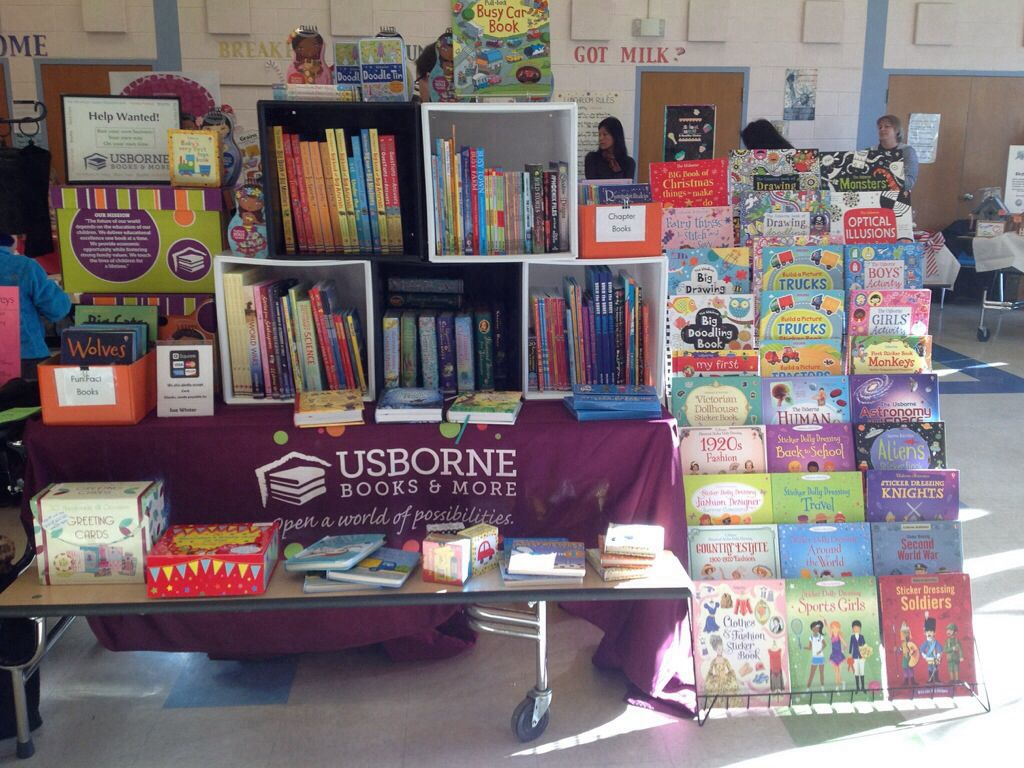 Usborne Books make a great addition to your home or school