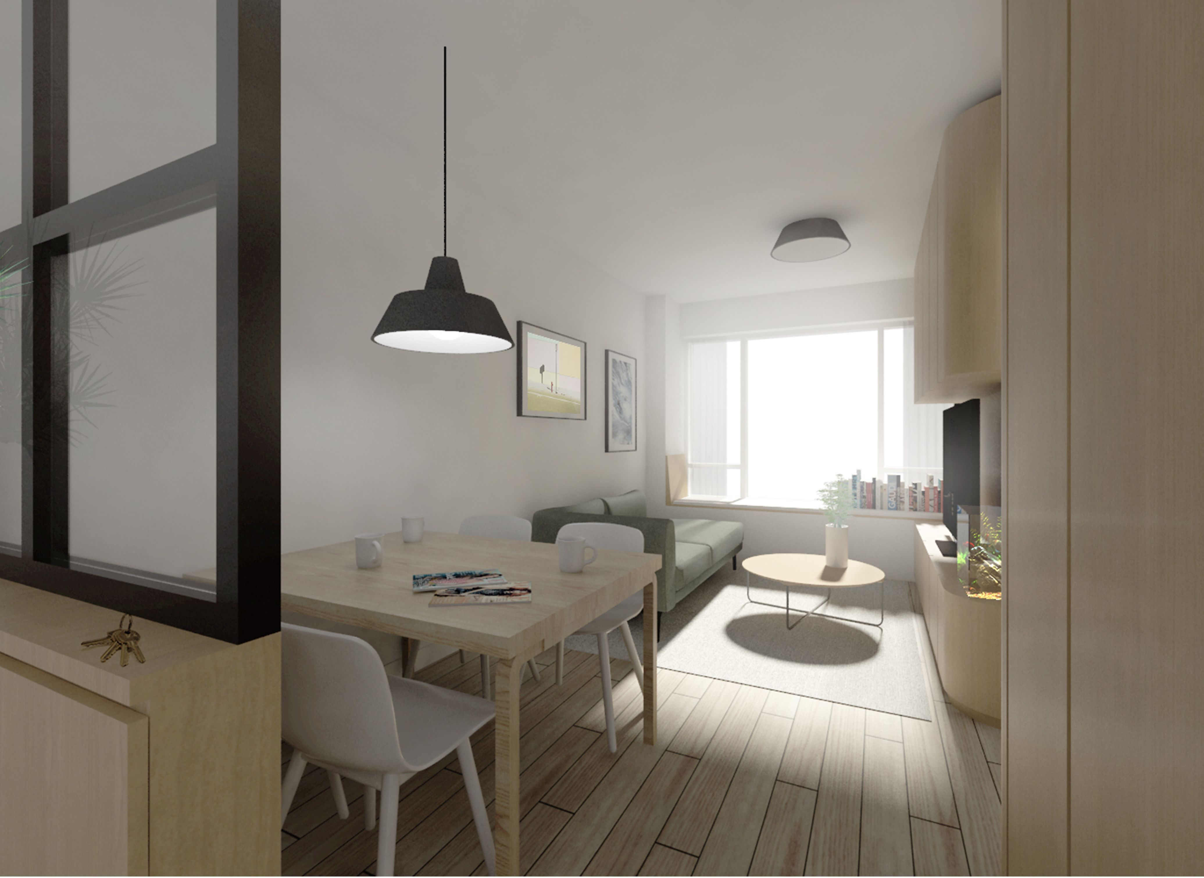 Small Living Room Arrangment Residential Interior Design