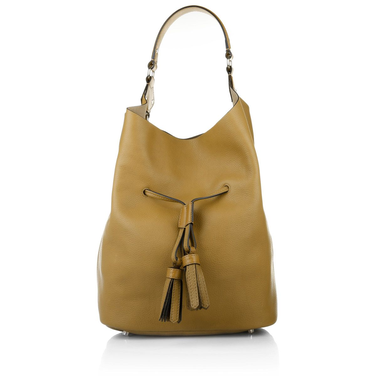 08f1ca882d5b3 Fashionette wears  business bags by Burberry. Brit Grainy Leather Large  Susanna Hobo Bag