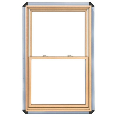 Pella Lifestyle Series Wood New Construction Egress White Enduraclad Double Hung Window Rough Opening 36 25 In X 62 25 In Actual 35 5 In X 61 5 In Lowes Co In 2020 Double Hung Windows Double Doors Interior Double