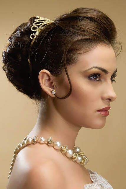 Swell Wedding Bun Hairstyles Bun Hairstyles And Buns On Pinterest Hairstyle Inspiration Daily Dogsangcom