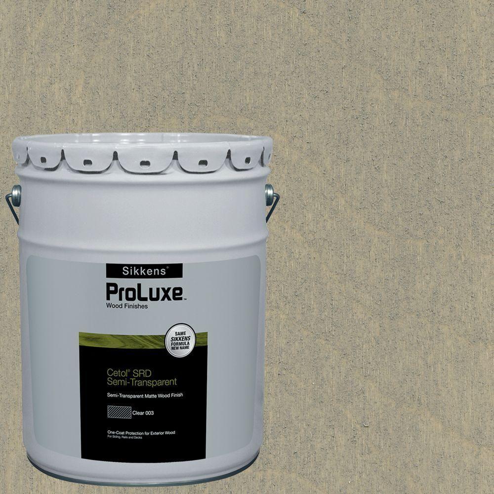 Sikkens ProLuxe 5-gal. #hdgsrd-ST-203 Beachwood Cetol SRD Semi-Transparent Exterior Wood Finish