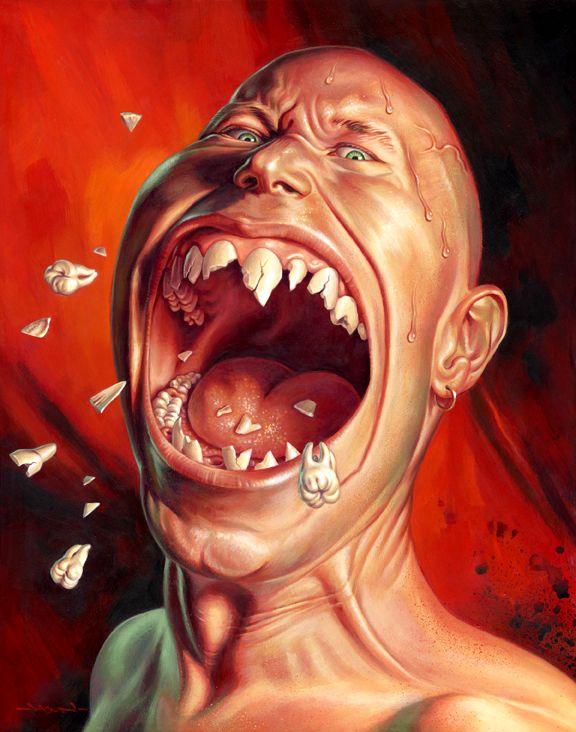 Выбитые зубы смешные картинки