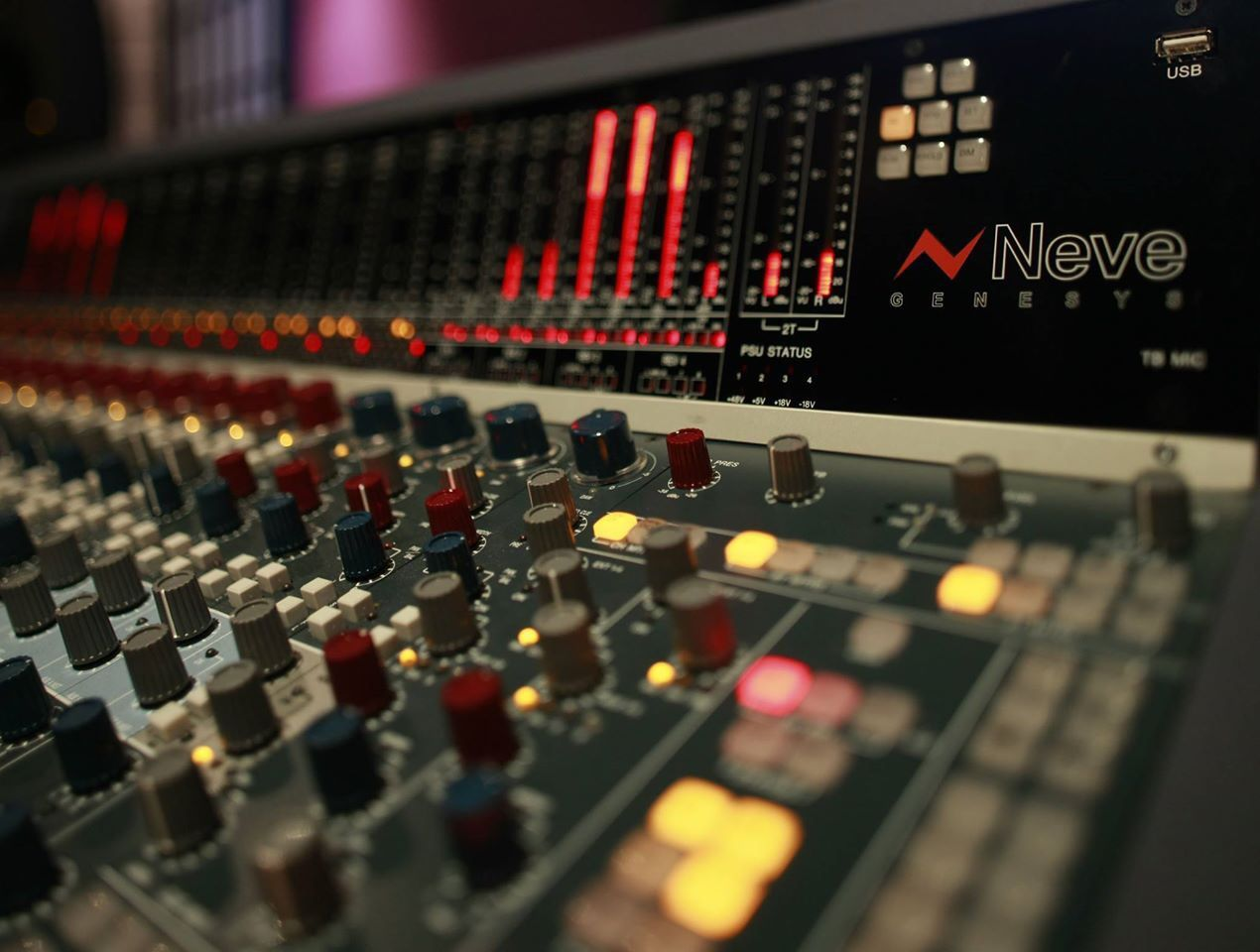 Rupert Neve Genesys Mixing Console