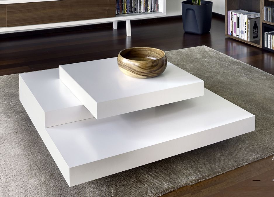 Beautiful The Slates Square Coffee Table From Top Portuguese Contemporary Furniture  Brand Essencia Home Is An Elegant Combination Of Different Sized Squares  Stacked ...