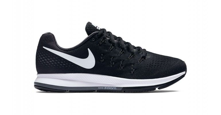 the best attitude fc8c6 855c3 Women s Nike Air Zoom Pegasus 33 Running Shoe - Color   Black White Anthracite Cool Grey (Regular Width) - Size  5