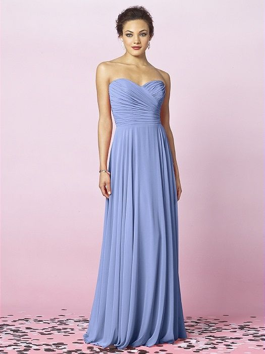 vintage periwinkle bridesmaid dresses - Google Search | #BandC2016 ...