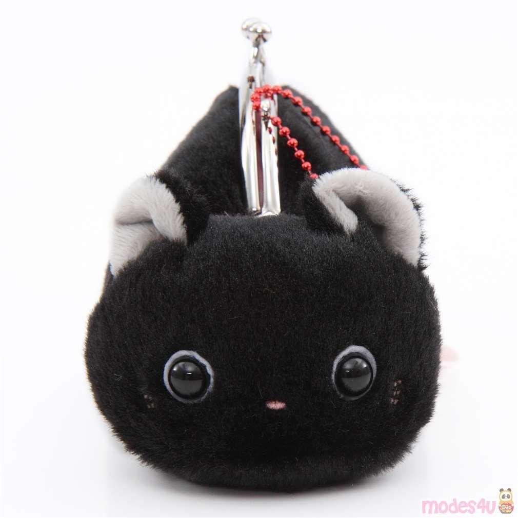 Soft Cute Black Cat Plush Tsuchineko Purse Wallet From Japan Black Cat Plush Cat Plush Cute Black Cats [ 1010 x 1010 Pixel ]