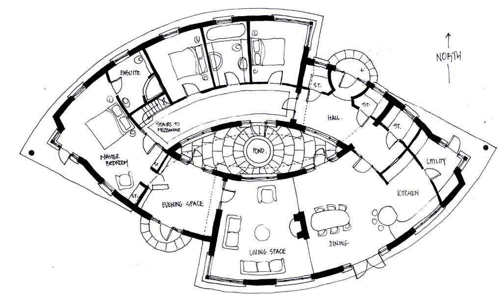 The Drawings Below Represent A Number Of Designs For Some Sacred Geometry Homes Designed And H Architectural Floor Plans Floor Plan Design Unique Floor Plans