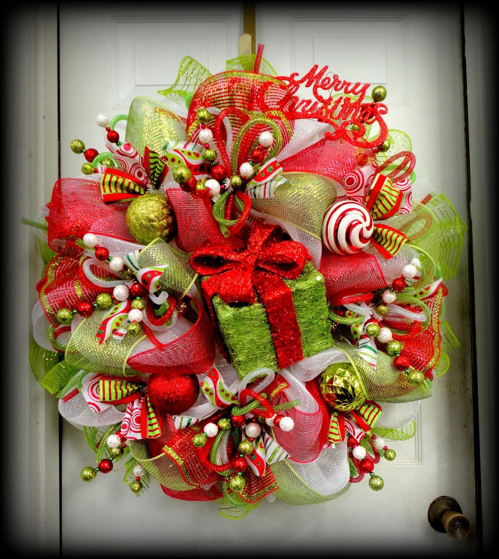 Indoor Wreaths Home Decorating: Simple Design Homey Christmas Wreath Craft Ideas