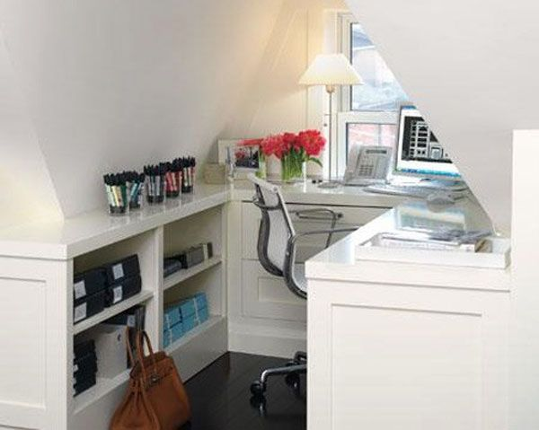 Awesome 37 Stylish Attic Home Office Design Ideas Small And Simple Attic Home Office Design Home Office Design