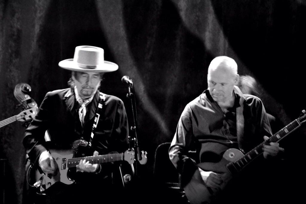 Mark e Bob Dylan