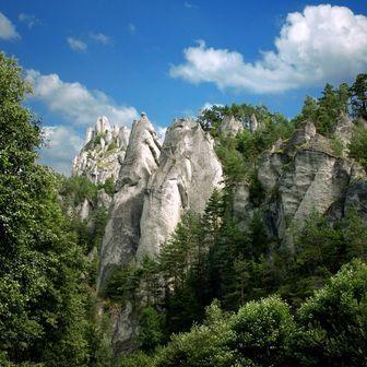 Súľovské skaly (Súľovské vrchy) - Slovakia.travel